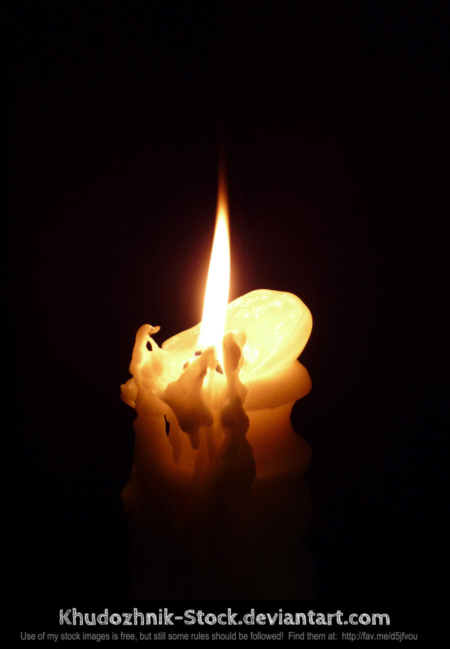 candle stock #005 by Khudozhnik-Stock
