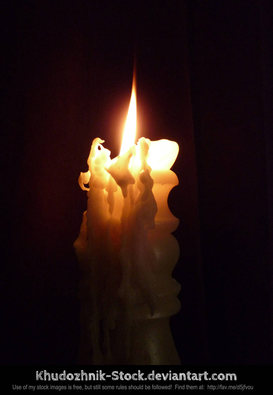 candle stock #001 by Khudozhnik-Stock
