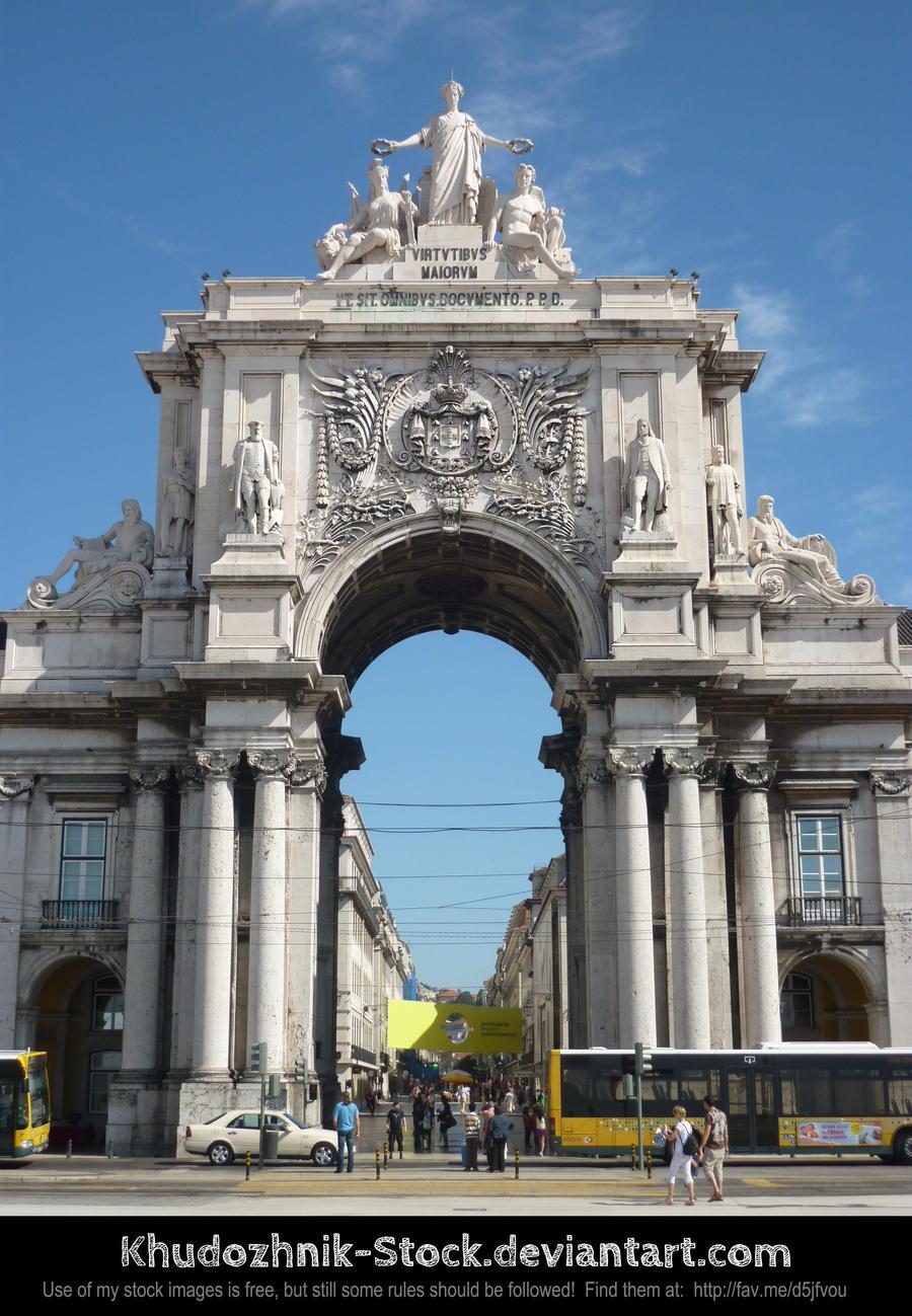 Arco da Rua Augusta by Khudozhnik-Stock