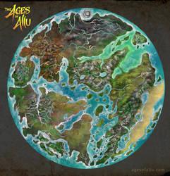 Allu - world map (in progress)