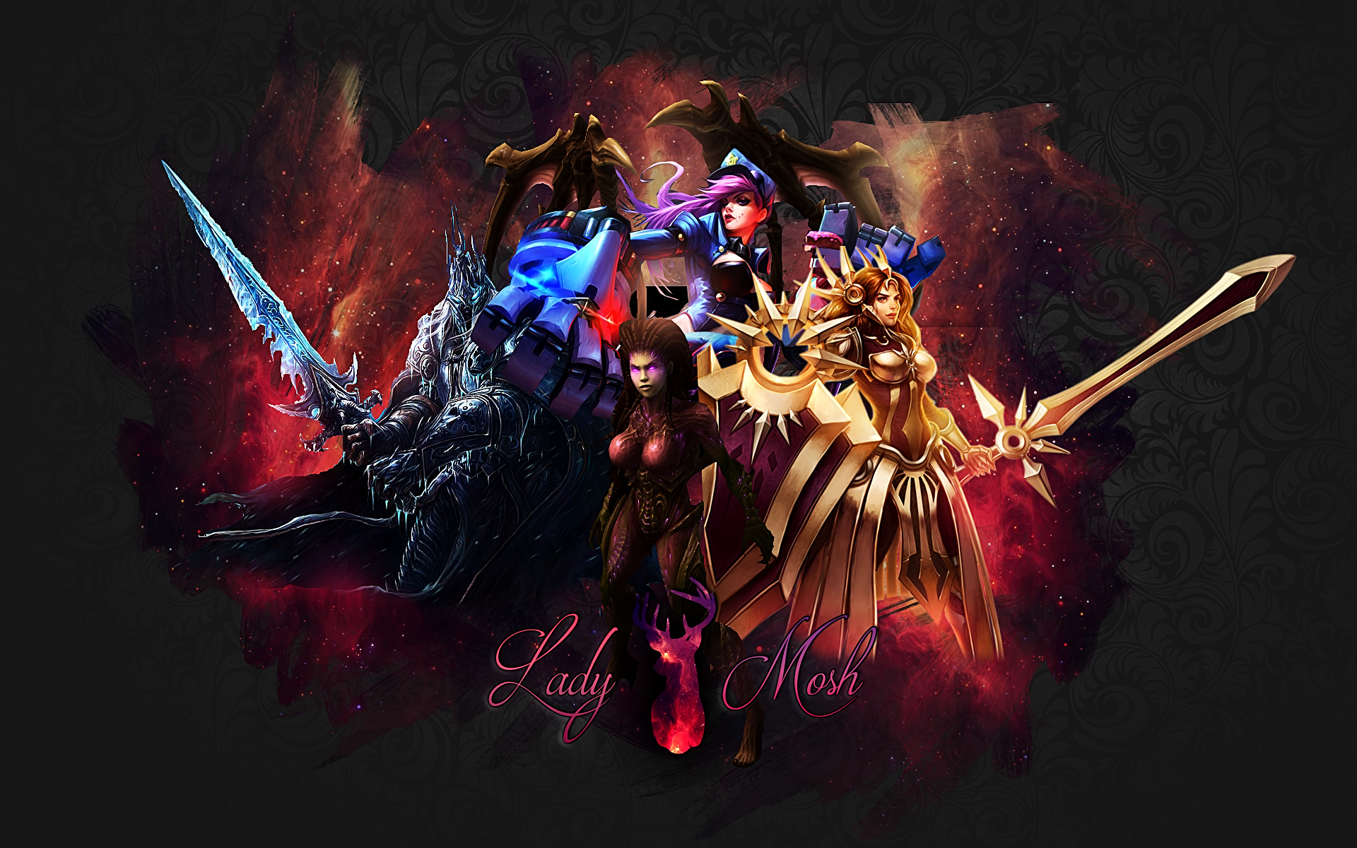 Heroes Of The Storm With League Legends By MoshMoshy