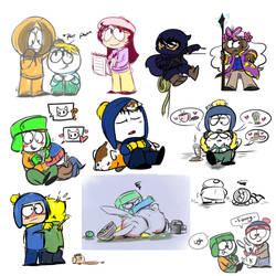 South Park Doodle Dump