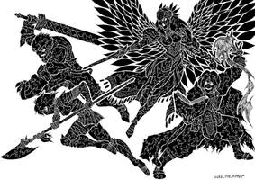 To My Side My Noble Einherjar! by LukeTheRipper