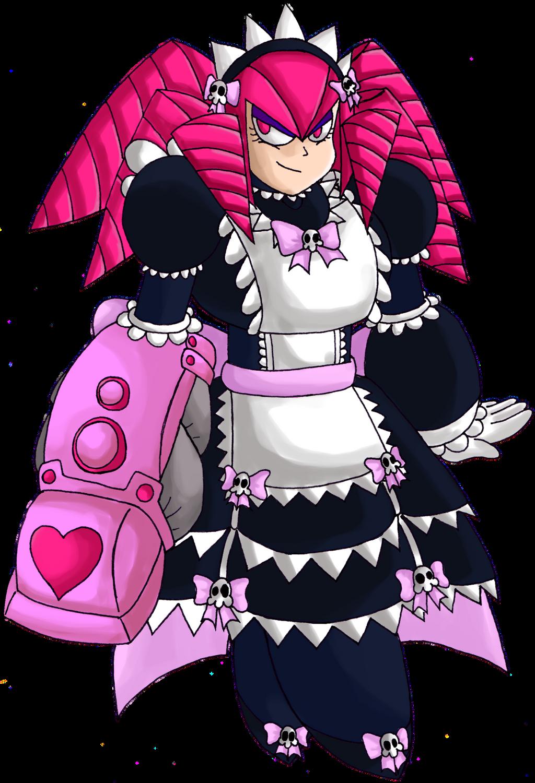 Robot Master OC - MaidWoman by LukeTheRipper