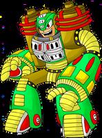 Robot Master OC - EnergyMan by LukeTheRipper