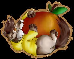 Smol Tough Cute Pupper vs. Orange by LukeTheRipper