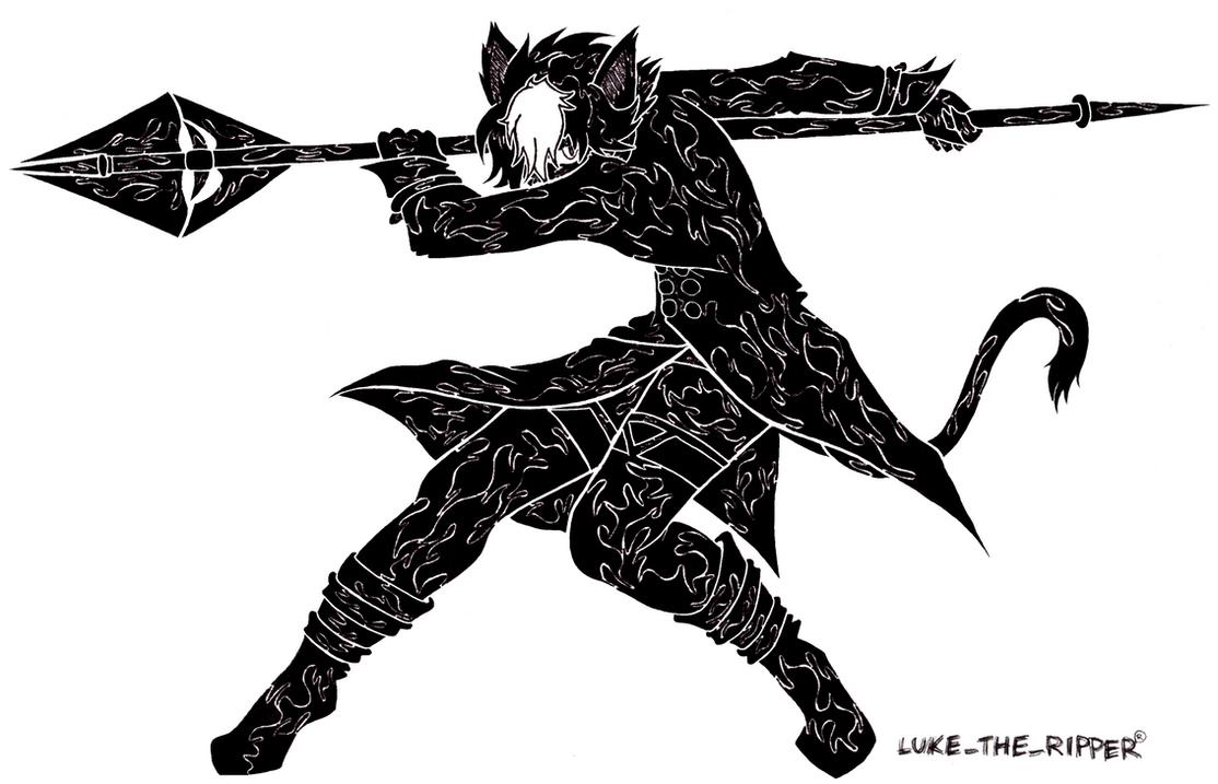 Feisty Kitty by LukeTheRipper
