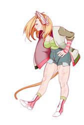 I was a cat girl, nyah!--Ginjaninjaowo