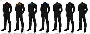 Starfleet '2409' Uniforms - Duty Uniforms