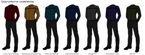 Starfleet '2409' Uniforms - Duty Uniform (Off)