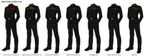Starfleet '2409' Uniforms - Admiral Uniforms