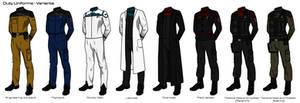 Starfleet '2409' Uniforms - Variant Uniforms