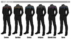 Star Trek Online 'Odyssey' Duty Uniforms