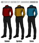 Star Trek Generations Uniform concept