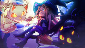 The Cat Witch (Halloween)