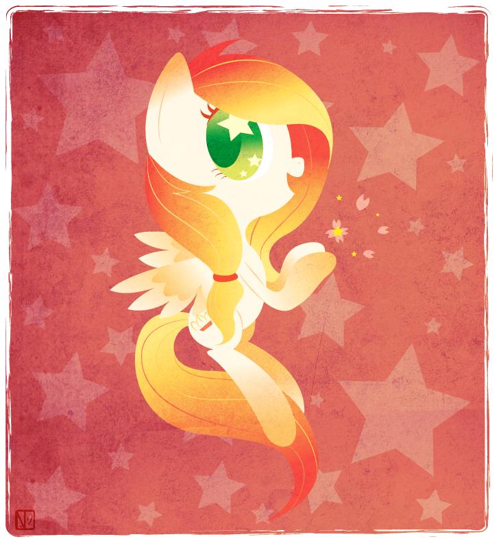 Rainbow Fall Commish by StarMassacre