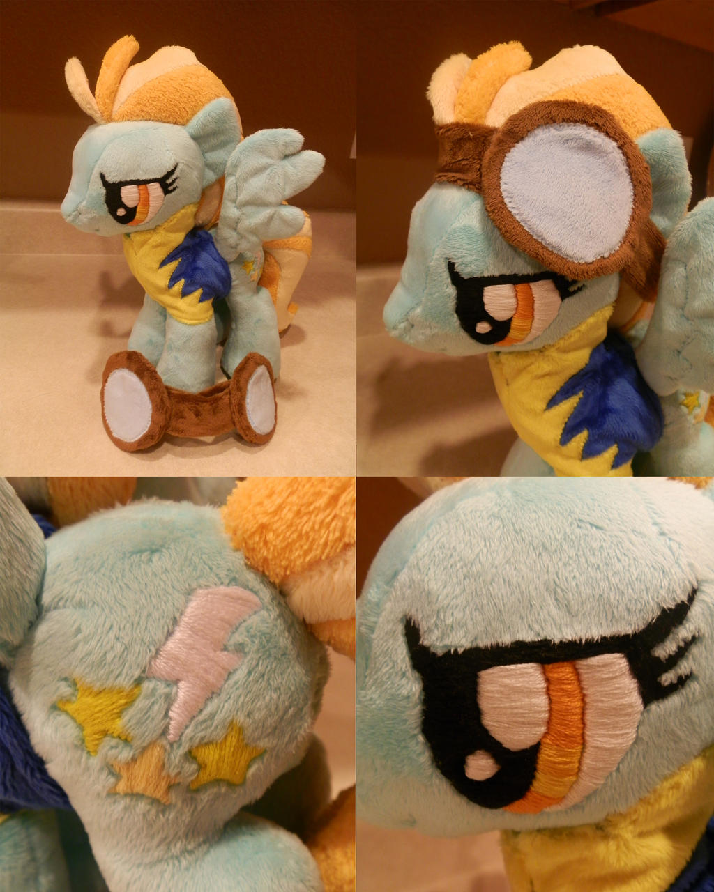 Lightning Dust Plush by StarMassacre