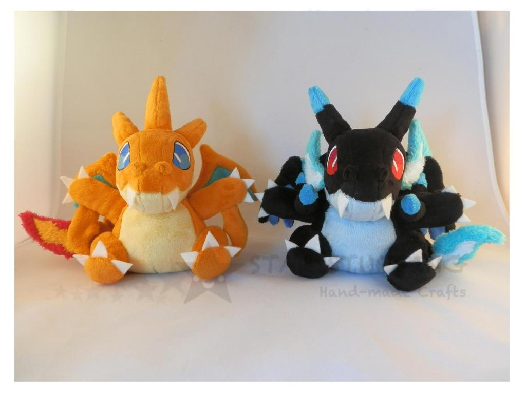 Pokemon Charizards X-Y by StarMassacre