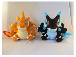 Pokemon Charizards X-Y