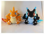 Pokemon Charizards X-Y