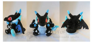 Pokemon Charizard X Plush