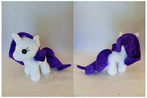 Rarity Palm Pony by StarMassacre