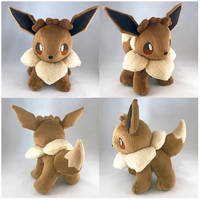 Eevee Plush (For Sale) by StarMassacre