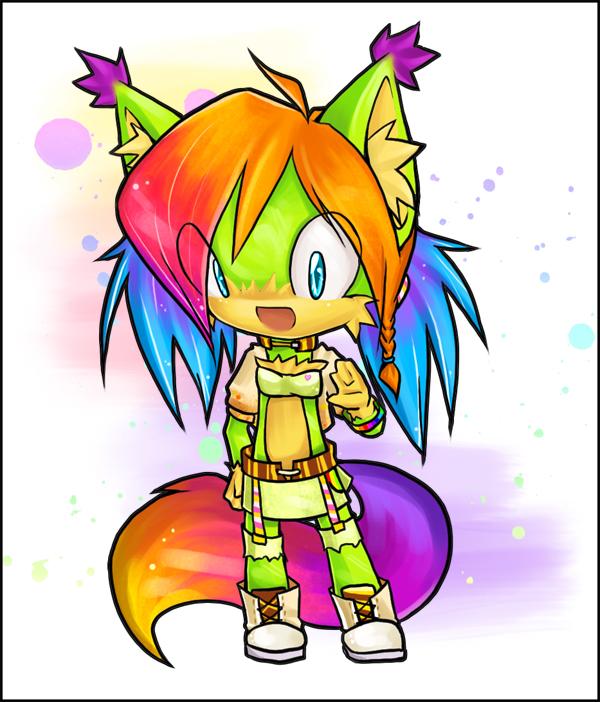 :Rainbow: chibi-com by IssyoniTH