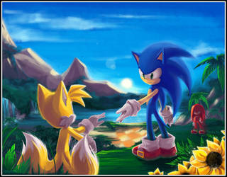 ::Sonic Heroes:: by IssyoniTH