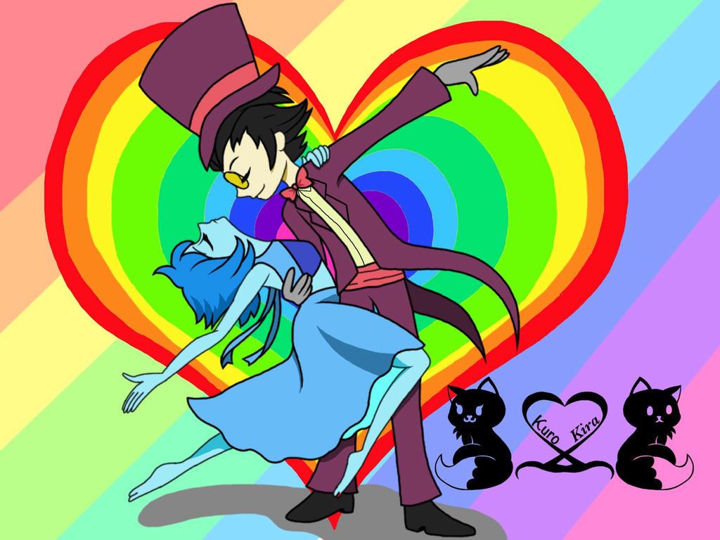 lapis and warden rainbows by kuro2kira on deviantart
