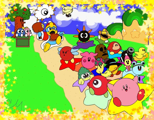 Kirby's Dream Land by brushtrail on DeviantArt