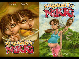 knocked up nikki, cover issue1