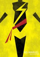 Ms. Marvel by Neil Kristian by neilkristian