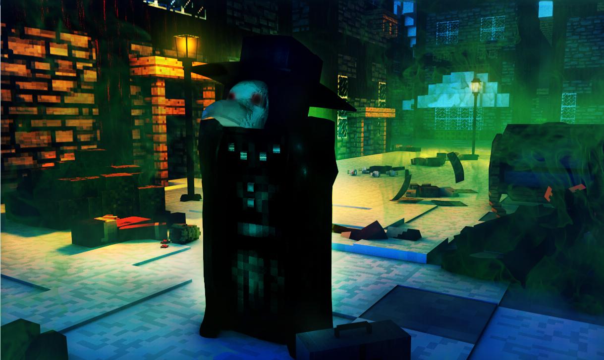Plague Doctor in Minecraft by n10swai on DeviantArt