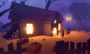 Halloween. Minecraft Parody by n4swai