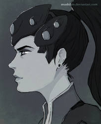 Widowmaker - Fan Art by Rakuens