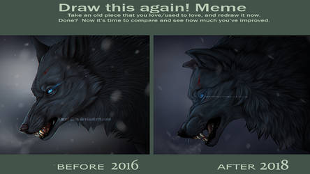 Draw this again! Blue edition by Rakuens