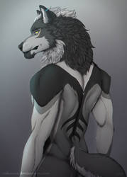 Daeph - anthro form by Rakuens