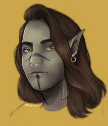 Me as a half-orc :D