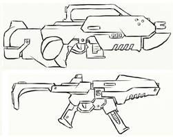 Gun Concepts II by JxAir