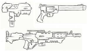 Gun Concepts III by JxAir