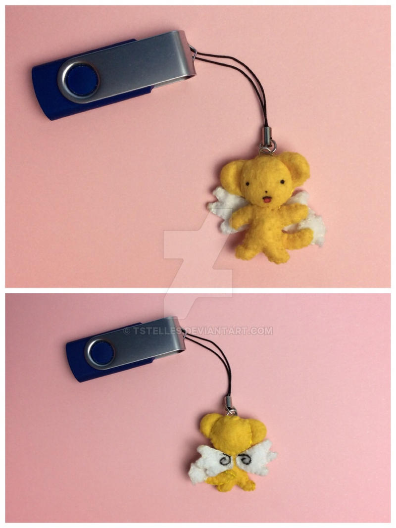 kero chan cardcaptor sakura pen drive charm by tstelles on