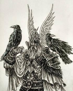 INKTOBER DAY 5: Raven