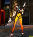 Tracer's Victory Pose