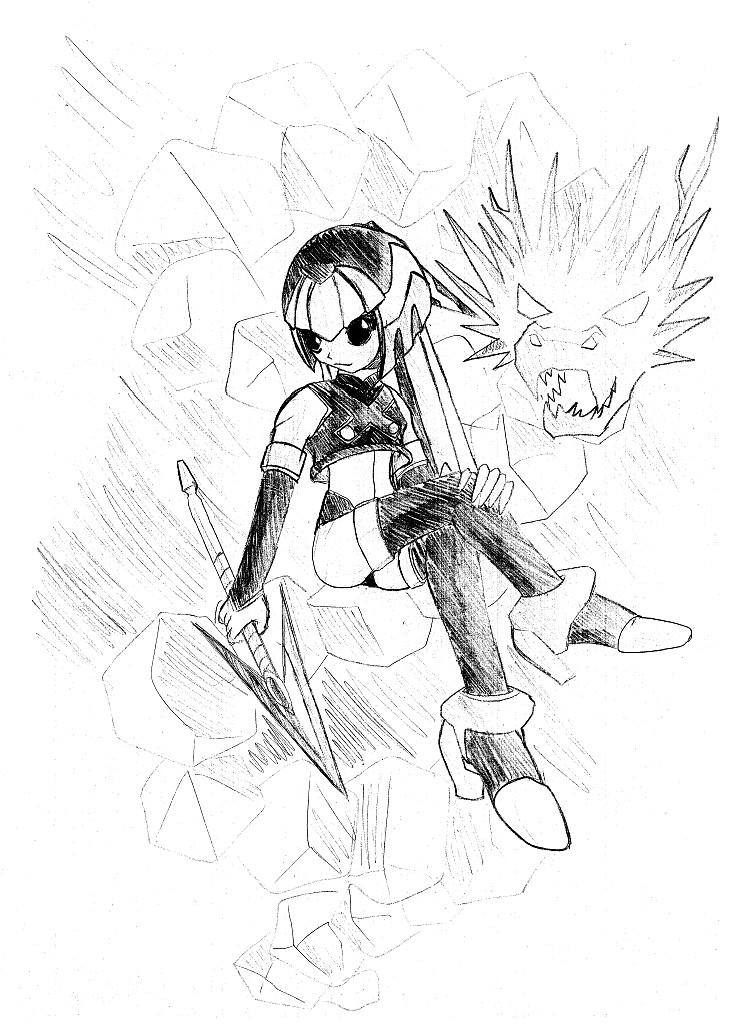 Leviathan_pencil by venom00