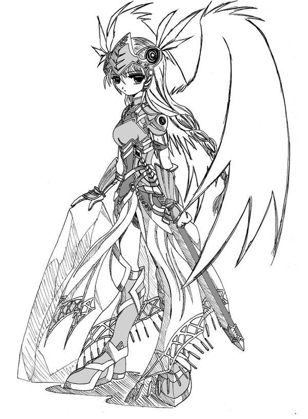 Valkyrie Profile - Lenneth by venom00