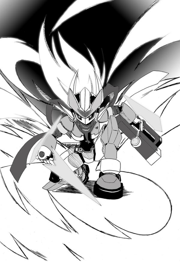 Rockman ZX - Shitennou ZX by venom00