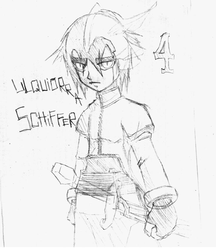 ZX Ulquiorra Sketch by venom00