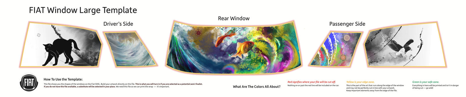 FIAT Window Large Template 01 by oikidoki