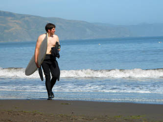 Surfing Son-in-Law